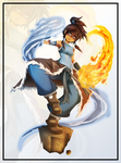 The Avatar Korra by Anderson-07
