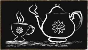 Tea Pot and Tea Cup by Stacey1mb