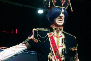 Radu Barvon - Trinity Blood (photo from the stage) by OkariDane
