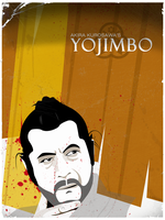 Yojimbo worn poster by The-Loiterer