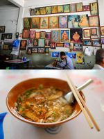 Noodle Soup Shop by drewhoshkiw