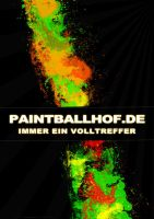 Paintballhof Plakat v3 by MDEVIANCE