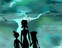 THE JOURNEY by meks-the-gypsy