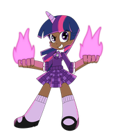 Human Twilight Sparkle by AireDaleDogz