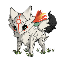 MyFox okami by melody1720