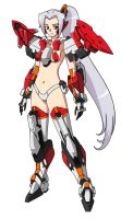 AS Musume: ARX-8 Laevatein V.2 by Illsteir