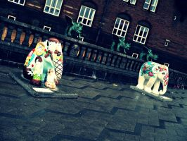 Copenhagen Elephant Parade 18 by Skorpiotronik