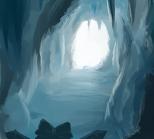 Ice cave by Glacear