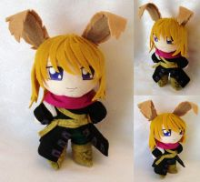 Chibi Plushie, Elliot March by LadyoftheSeireitei