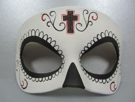 Day of the Dead cross mask by maskedzone