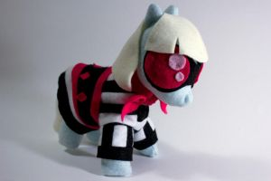 Photo Finish plushie by CosmicCrafts