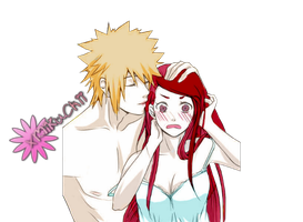Minato and Kushina Render by xMikuChii