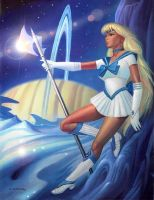 Sailor Dione by AlanGutierrezArt
