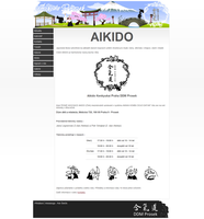 Aikido group website by petrsimcik