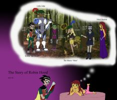 The Story of Robin the Hood by inimicussuperbiae