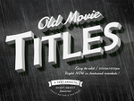 Old Movie Titles by absolut2305