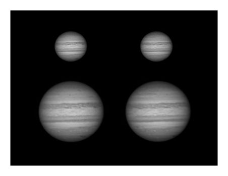 Jupiter with impact 04-08-2009 by Chrissyo