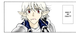 Manga Coloring- Half Prince by UpperClassK9