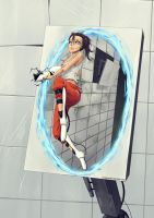 Chell by YuSePe