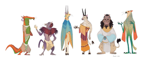 Egypt babies by GreekCeltic