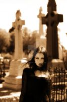 Eva-Rose at the Cemetery II by Eva-Rose