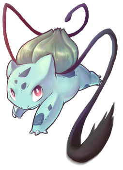 Bulbasaur's Vine Whip by Lanmana