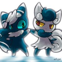 PKMN-Meowstic by Mikoto-chan