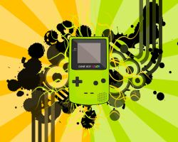 GameBoy Color Wallpaper by DarkLyon