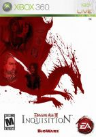 Dragon Age III: Inquisition Game Cover (Leak) by RedVirtuoso