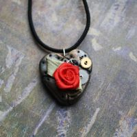 Steampunk necklace 1 by autumn-I-equinox