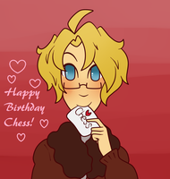 Happy Bday Chess by MoreTeaLove
