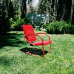 Red Garden Chair by Cooper3