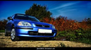 Honda Civic V by Ghostsk8ter