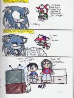 Sonic Unleashed Comic by fansonic
