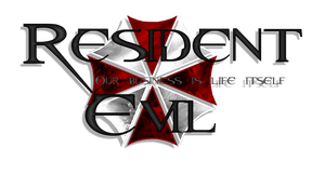 Resident Evil Logo *3 by RogueVincent