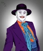 The joker - jack nicholson by Evymonster9406