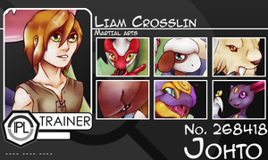 IPL character card Liam by pinafta1