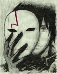 (CM) Hei - Darker Than Black [INK Portrait] by SprinkleSprankles