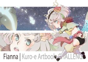 Kuro-E: Challenge/ Preview: Fianna by elypsiaproject