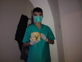 Doctor with Skul by SobohRami