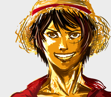 Luffy by sheepiest