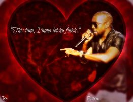Kanye Valentine. by TraceofHatred