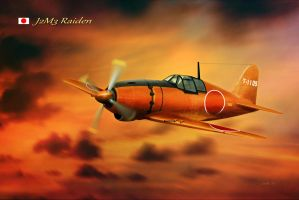 WW2 Imperial Japanese Fighter by Spirit-Knight
