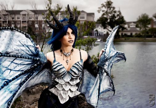 Frost Dragon Cosplay 2 by ShadowWingCosplay