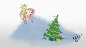 Oh, Fluttershy by NadyaD