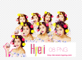 PNG pack Hyeri (Girl's Day) [FREE] by HynMy