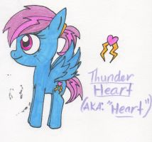 Thunder Heart (Role Play OC) by Piplup88908