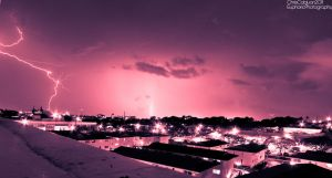 Thunderstorm Over Oahu by Mgbedt420