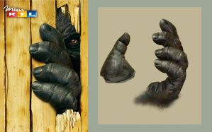 KING KONG hand by illugraphy