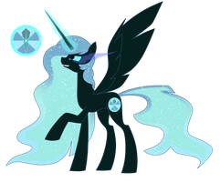 Dark Mare .:ADOPT CLOSED:. by Miss-Symph-0x0